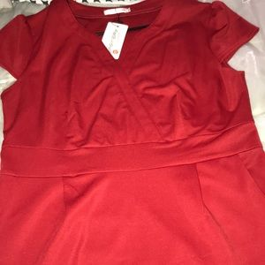 Red dress ( size: XL)